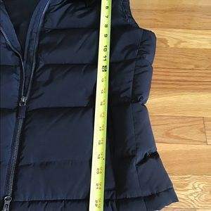 Talbots Jackets & Coats - Talbots goose down filled puffer vest black SMALL